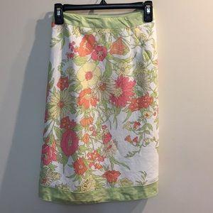 Dresses & Skirts - Ann Taylor Loft Petites Flower Skirt Sz 14P